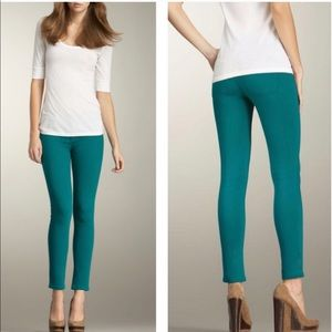 DL1961 Angle Ankle Skinny Teal Jeans 26